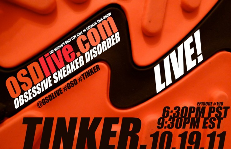 Tinker Hatfield live phone in tonight!