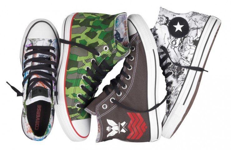 Converse x Gorillaz Collection