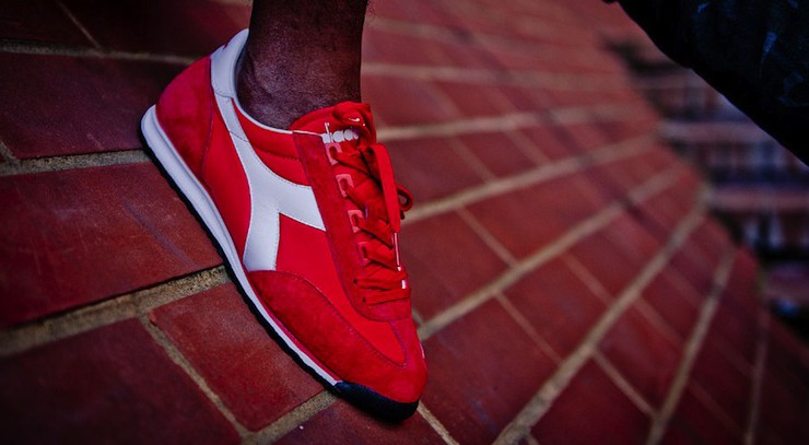 Diadora – 'return of a legend' – summer 2012 lookbook