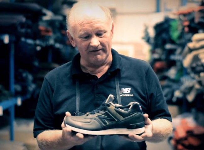 New Balance 'Excellent Makers' – UK factory