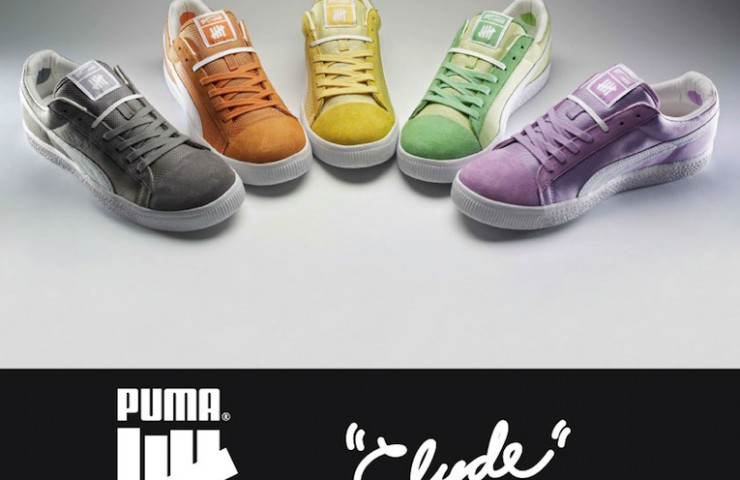 PUMA Clyde x UNDFTD Ballistic Collection