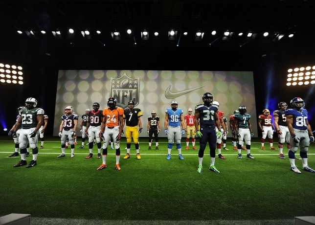 Nike 'Elite 51' NFL uniforms