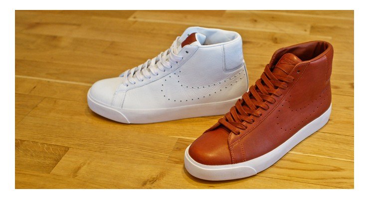 Nike Blazer & Toki Premium 'white' & 'brown' pack – size? exclusive