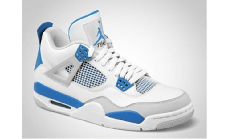 Nike Air Jordan IV 'military blue' Retro