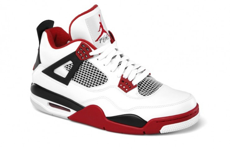 Air Jordan IV 'varsity red' Retro