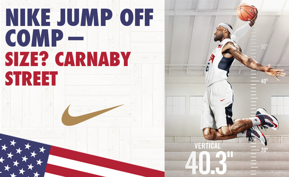 Nike Jump Off competition – size? exclusive