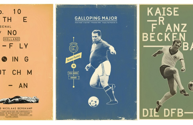 Zoran Lucic's football posters