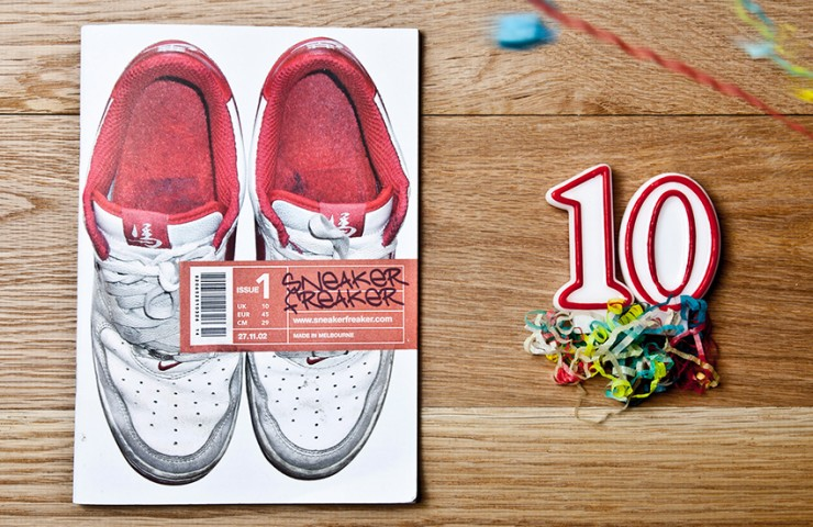 Sneaker Freaker turns 10 years old!!