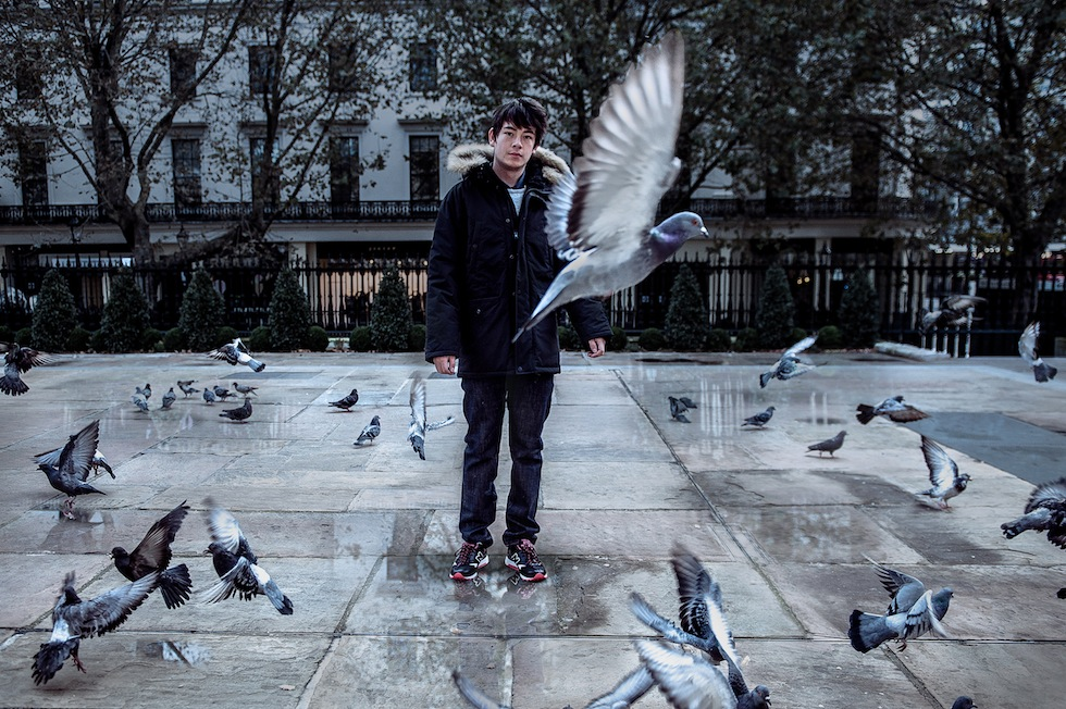 Black pigeon new balance - photo#16
