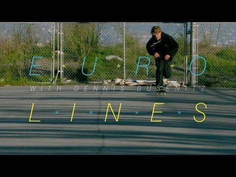REBLOG! adidas Skateboarding Euro Lines with Dennis Busenitz