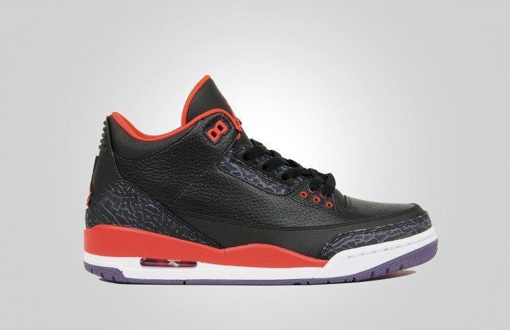 Air Jordan III 'Bright Crimson'