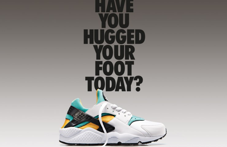 It's back – Nike Air Huarache OG