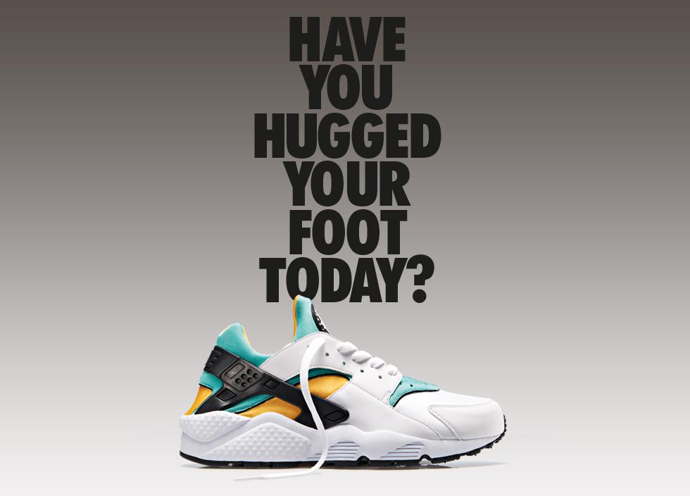 It's back – Nike Air Huarache OG