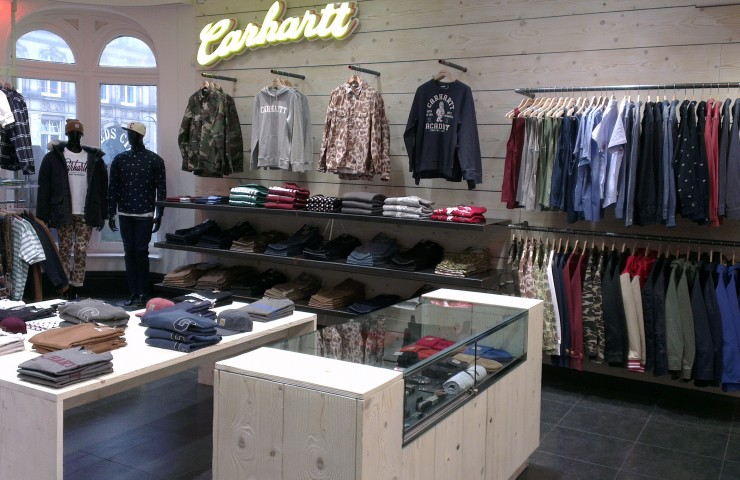 size? Leeds presents: Carhartt WIP shop-in-shop