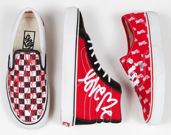 "Vans x Curtis Kulig ""Love Me"" Collection"