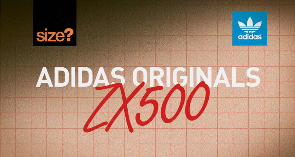 adidas Originals ZX500 OG – size? UK exclusive