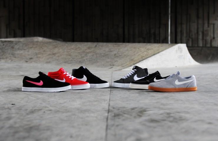 Nike Skateboarding – Blazer LR, Janoski & Koston 2