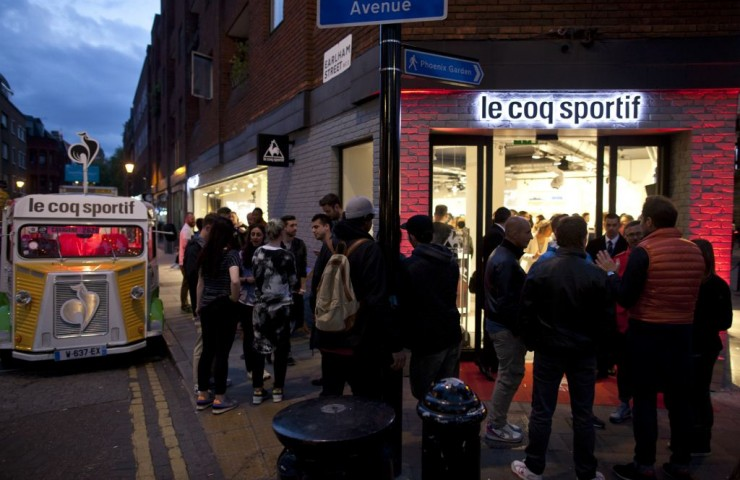 Le Coq Sportif's First UK Store Opening