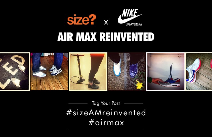 size? x Nike Air Max Reinvented competition