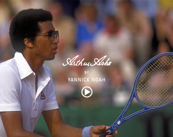 Sport Tales: Arthur Ashe by Yannick Noah