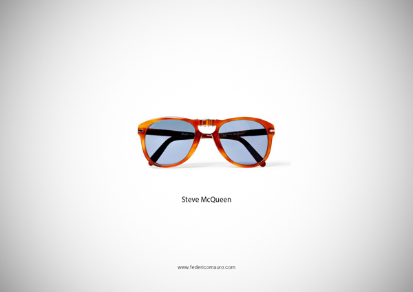 REBLOG! Famous Eyeglasses