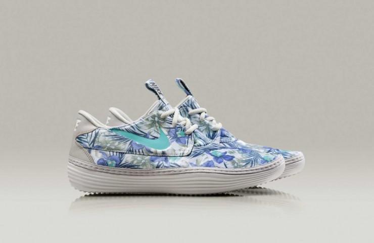 Nike Solarsoft Moccasin 'Floral Pack'
