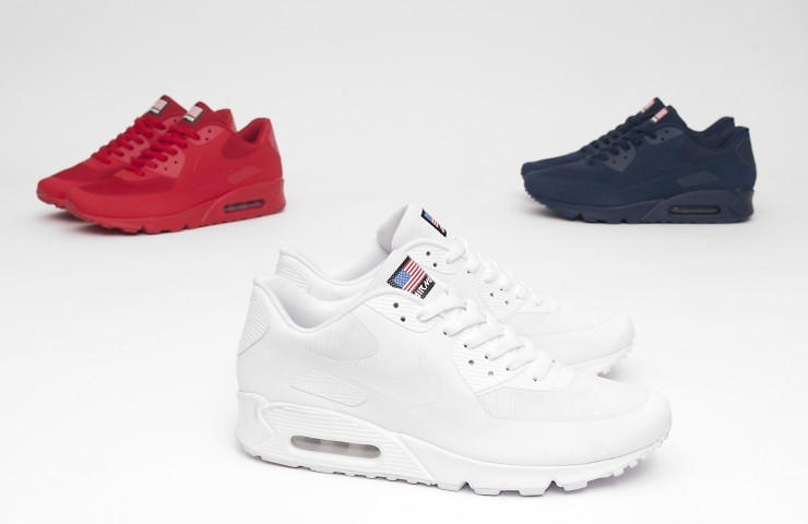Nike Air Max 90 Hyperfuse 'USA Pack' – The navy colourway
