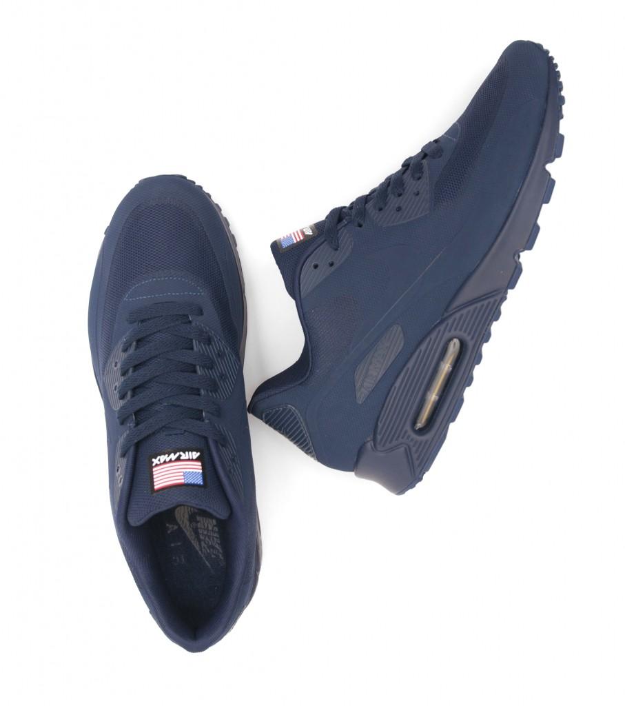air max 90 hyperfuse navy blue