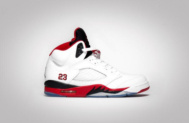 Air Jordan V 'Fire Red'