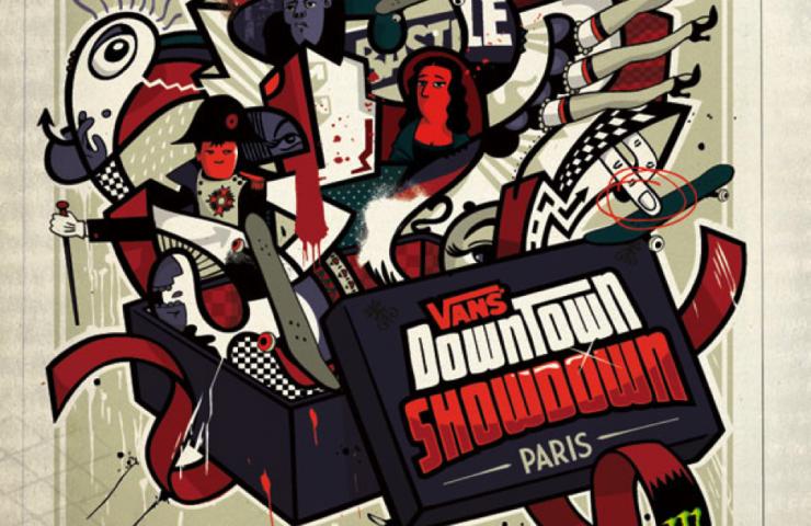 Vans Downtown Showdown, Paris – International Skateboard Contest