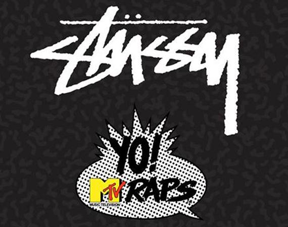 Stüssy x Yo! MTV Raps
