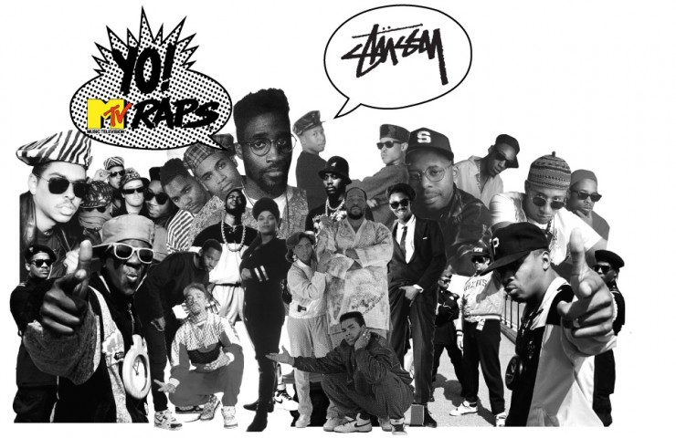 Stüssy x Yo! MTV Raps: By Chris Aylen from The Drop Date