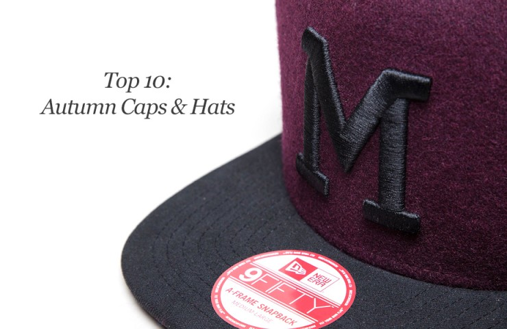 Top 10: Autumn Hats & Caps