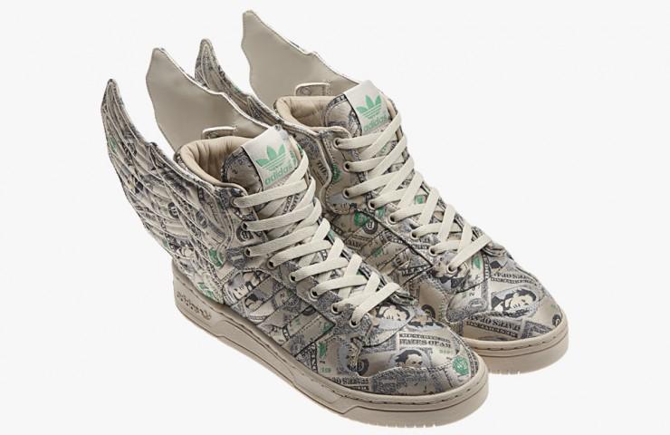 adidas Originals and Jeremy Scott Wings 2.0 'Money'