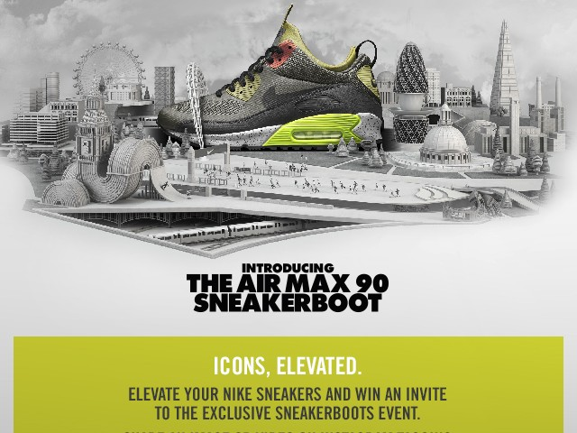 The SneakerBoots Challenge – Win an invite to an exclusive Nike event
