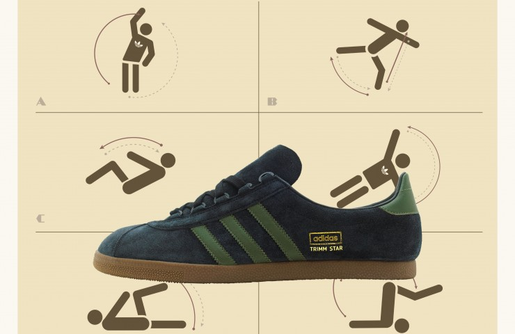 adidas Originals Trimm Star – size? UK exclusive