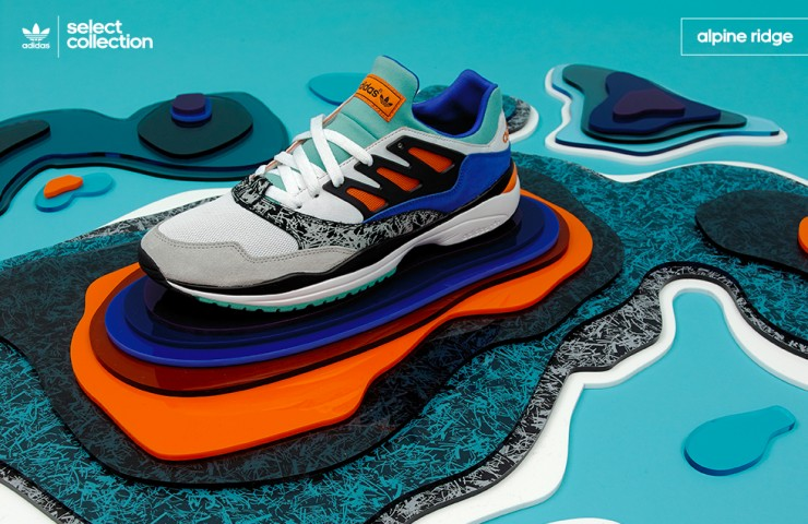 adidas Originals Select Collection 'Alpine Ridge' – size? UK exclusive