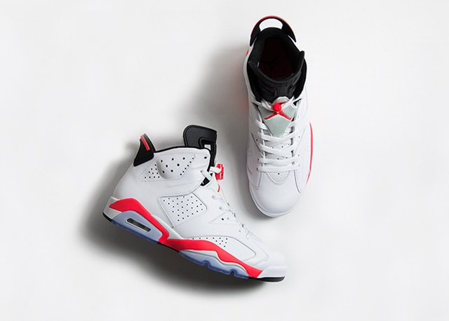 Air Jordan VI OG 'Infrared' - size? blog