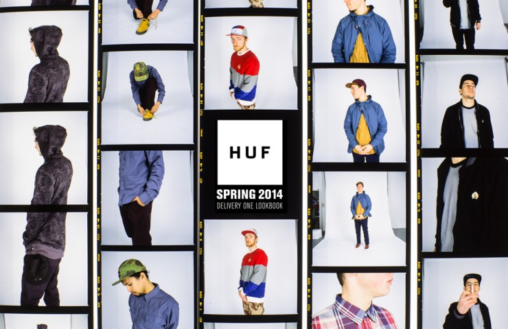HUF Spring 2014 Delivery 1 Lookbook