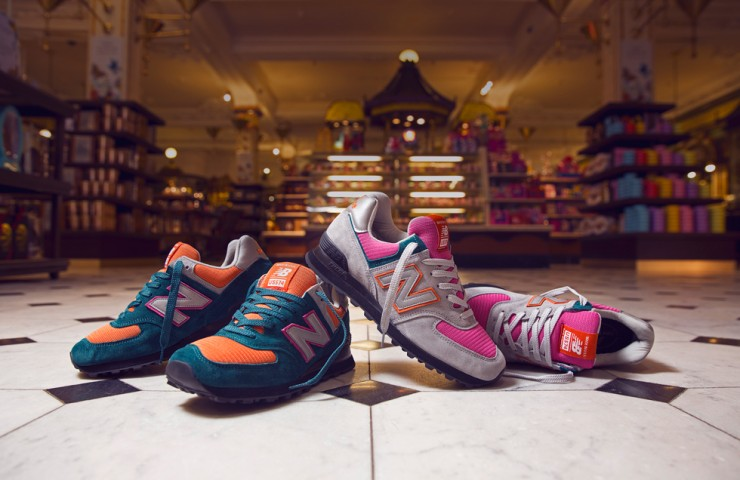 New Balance x size? Harrods US574 – Worldwide exclusive