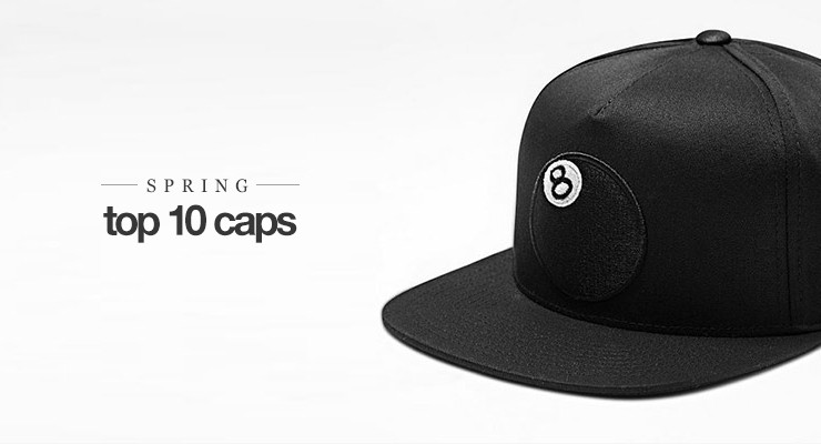Top 10: Latest spring caps