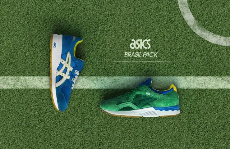 ASICS 'Brasil Pack'