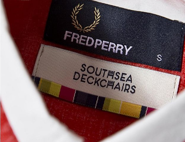 Fred Perry x Southsea Deckchairs