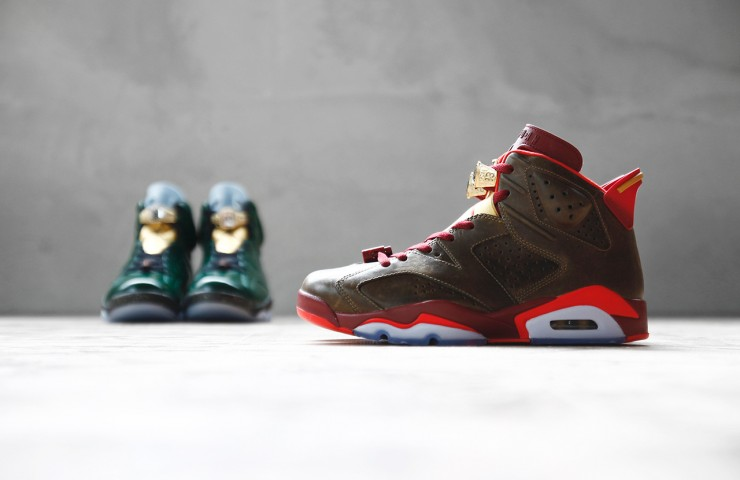 Air Jordan VI 'Celebration Collection' pack