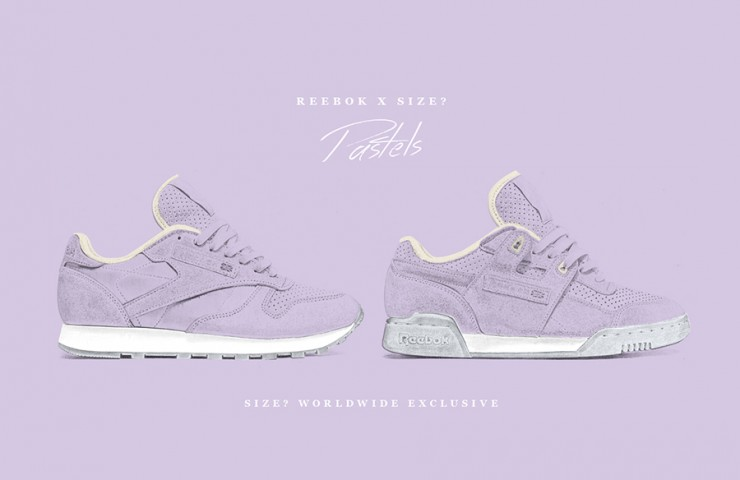 Reebok Pastels 'Purple Oasis' – size? Worldwide Exclusive