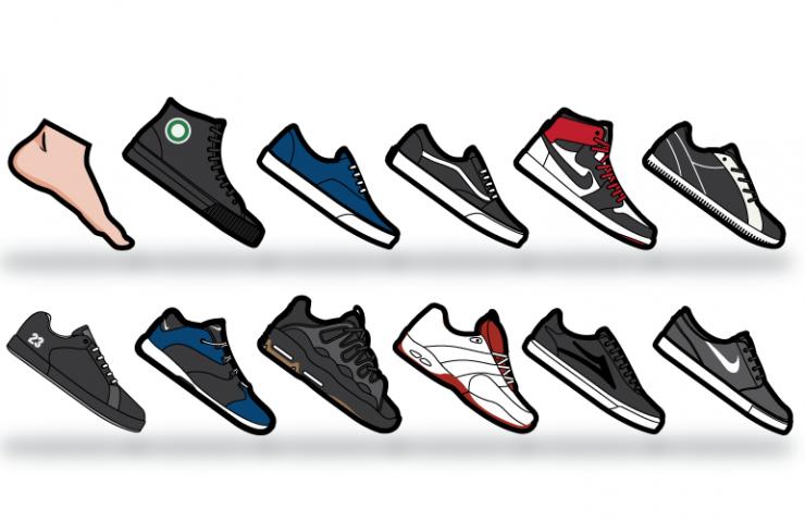 REBLOG! The Evolution of Skate Shoes
