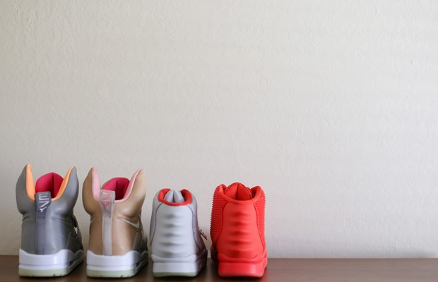 kanyes sneaker collection