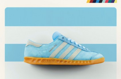 adidas Originals Hamburg 'Frost Blue' – size? UK Exclusive