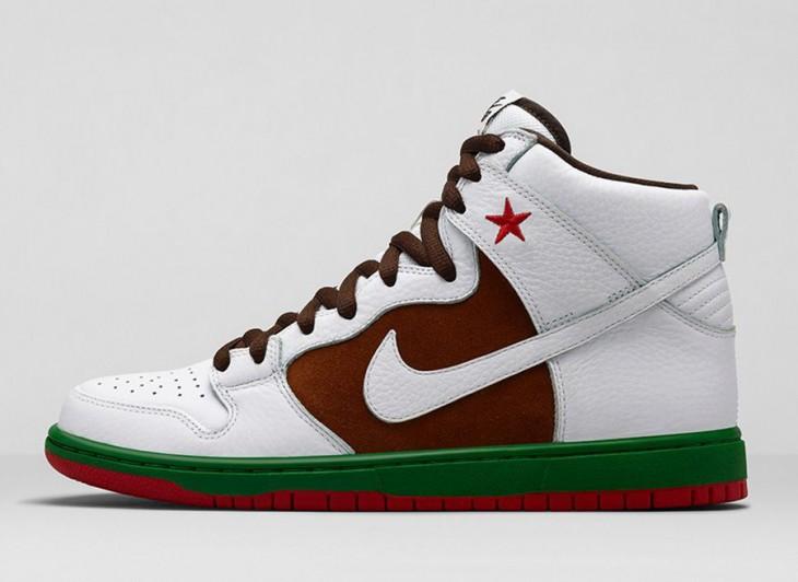 Nike Sb Dunk Alta Cali Premium / Granja Estado Número 31 O3TTCOd