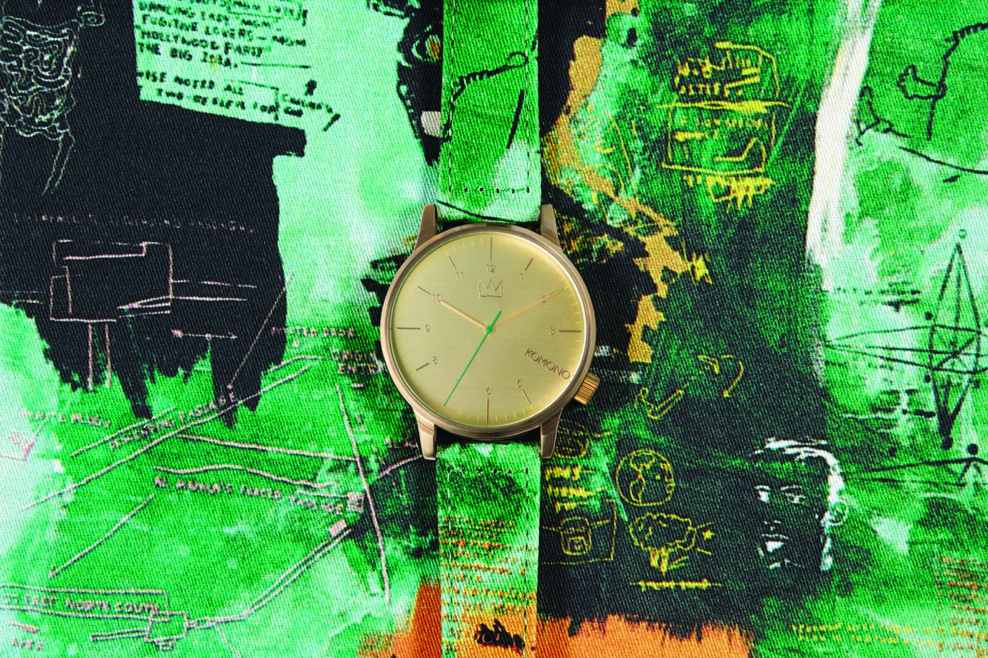 Komono x Jean-Michel Basquiat Watch Collection